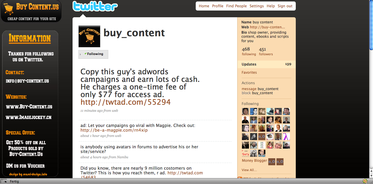 twitter background buy-content
